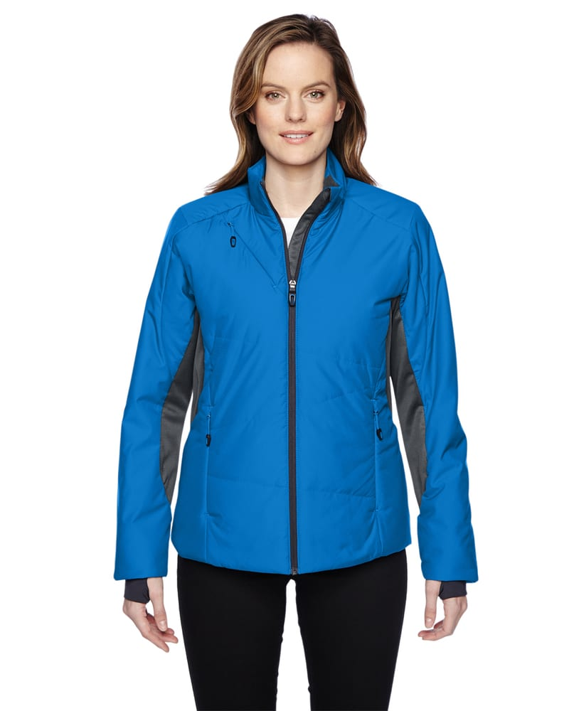 Ash City North End 78696 - Immerge Ladies' Insulated Hybrid Jackets With Heat Reflect Technology
