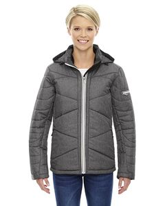 Ash City North End 78698 - Avant Ladies Tech Mélange Insulated Jackets With Heat Reflect Technology