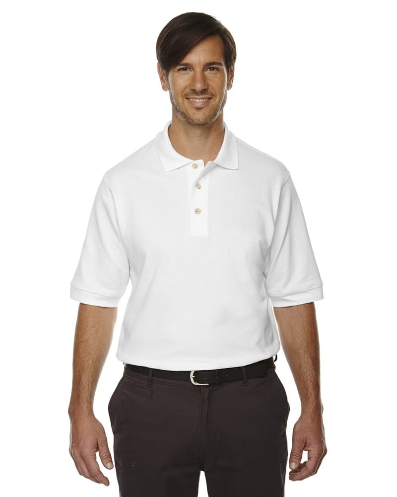 Ash City Extreme 85014 - Men's 100% Cotton Pique Polo