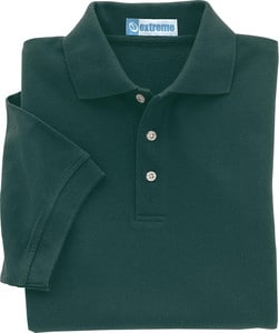 Ash City Extreme 85015 - Mens Extreme Cotton Blend Pique Polos