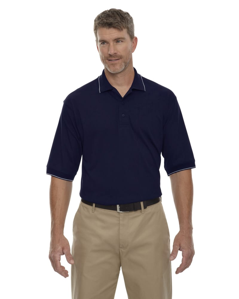 Ash City Extreme 85032 - Men's Jersey Polo With Pencil Stripe