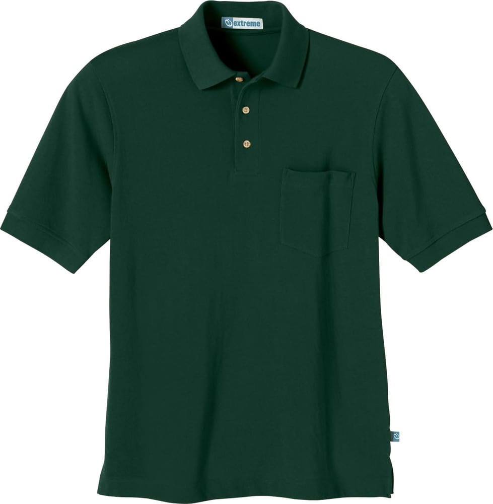 Ash City Extreme 85074 - Men's One-Pocket Short Sleeve Extreme Pique Polo With Teflon®