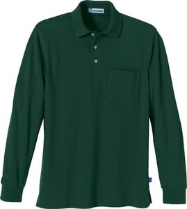 Ash City Vintage 85076 - Mens One-Pocket Long Sleeve Extreme Pique Polo With Teflon®