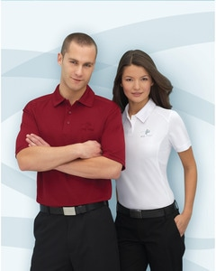 e.c.o Collection 85090 - Mens Recycled Polyester Performance Birdseye Polo