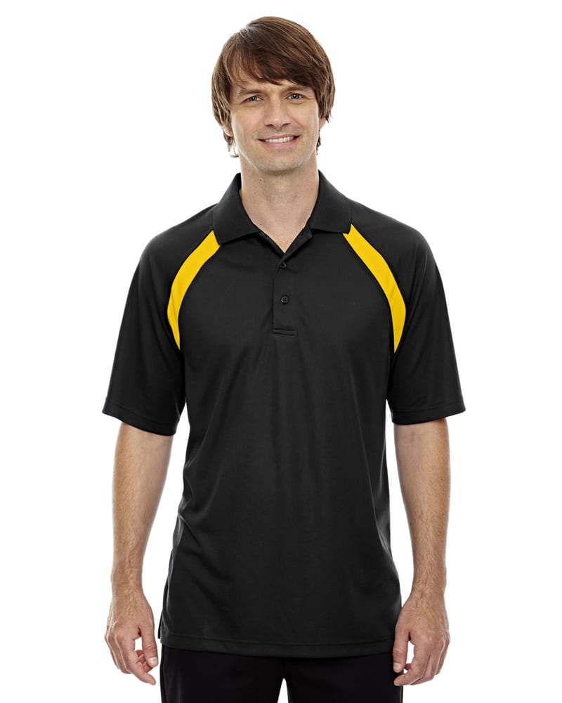 Ash City Extreme 85104 - Men's Eperformance™ Color-Block Pique Polo