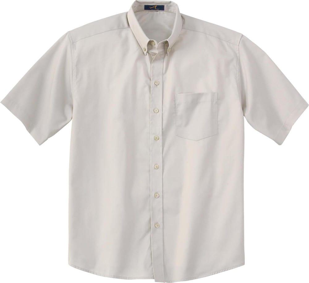 Ash City Vintage 87016 - Men's Short Sleeve Twill Shirt