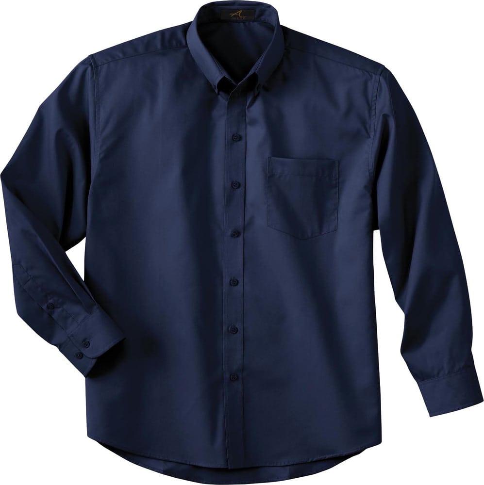 Ash City Vintage 87024 - Chemise À Manches Longues Pour Homme En Twill Avec Téflon®
