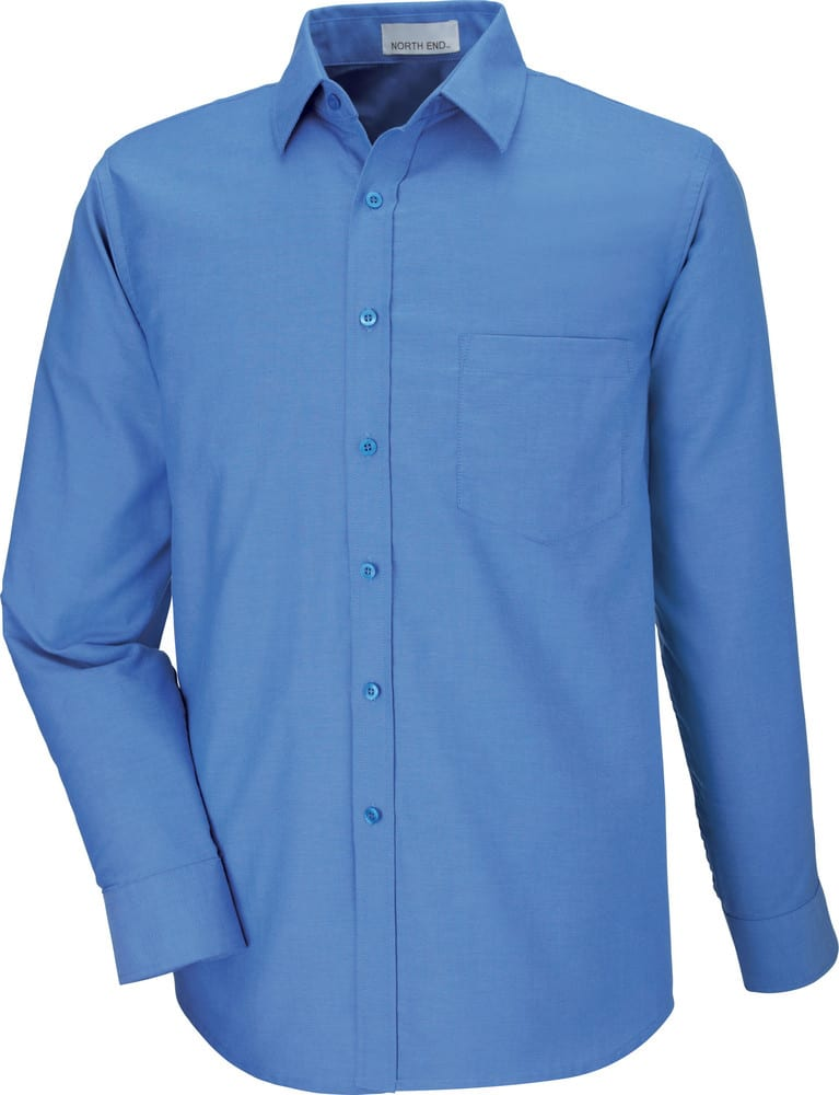 Ash City North End 87038T - Windsor Men's Tall Long Sleeve Oxford Shirt