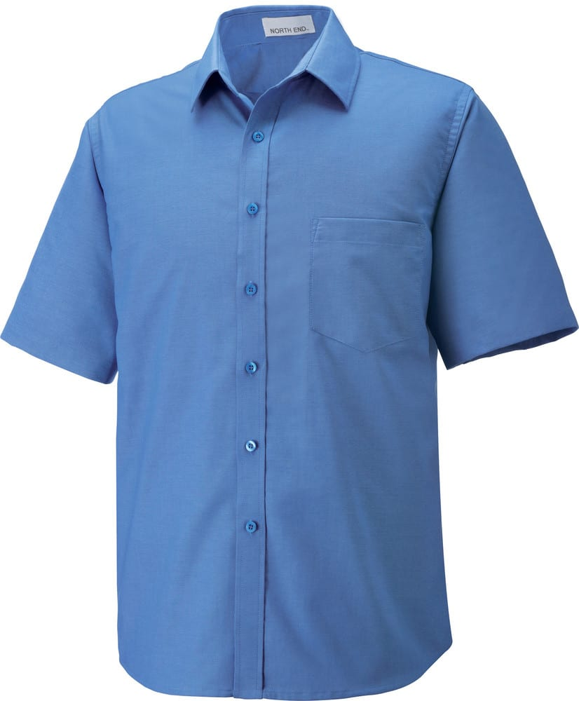 Ash City North End 87039 - Maldon Men's Short Sleeve Oxford Shirt