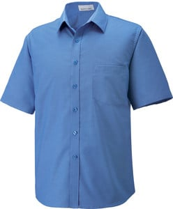 Ash City North End 87039T - Maldon Tall Chemise Oxford À Manches Courtes