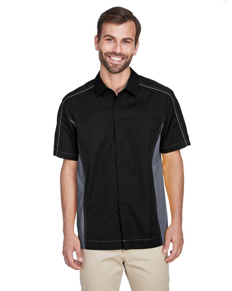 Ash City North End 87042T - Fuse Men'sColor-Block Twill Shirts