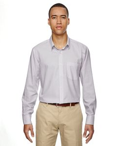 Ash City North End 87043 - Paramount Mens Wrinkle Resistant Cotton Blend Twill Checkered Shirt