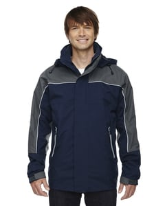 Ash City North End 88052 - Mens Techno Performancetm 3-In-1 Seam Sealed Mid-Length Jacket