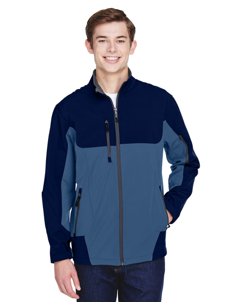 Ash City North End 88156 - Compass Men's Color-Block Soft Shell Jacket