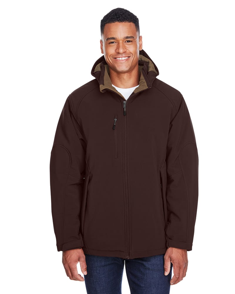 Ash City North End 88159 - GlacierMen's Insulated Soft Shell Jacket With Detachable Hood