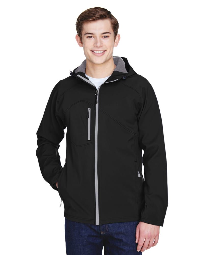 Ash City North End 88166 - Prospect Men's Soft Shell Jacket With Hood