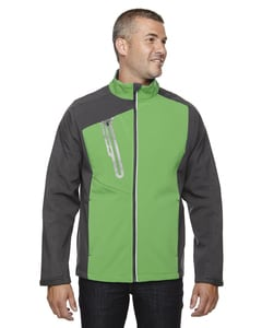 Ash City North End 88176 - Terrain Mens Color-Block Soft Shell With Embossed Print