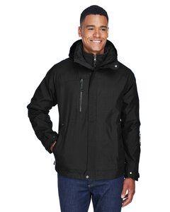 Ash City North End 88178 - Caprice Manteau 3 En 1 Pour Homme Avec Manteau Intérieur À Extérieur Doux