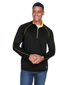 Ash City North End 88187 - Radar Mens Half-Zip Performance Long Sleeve Top