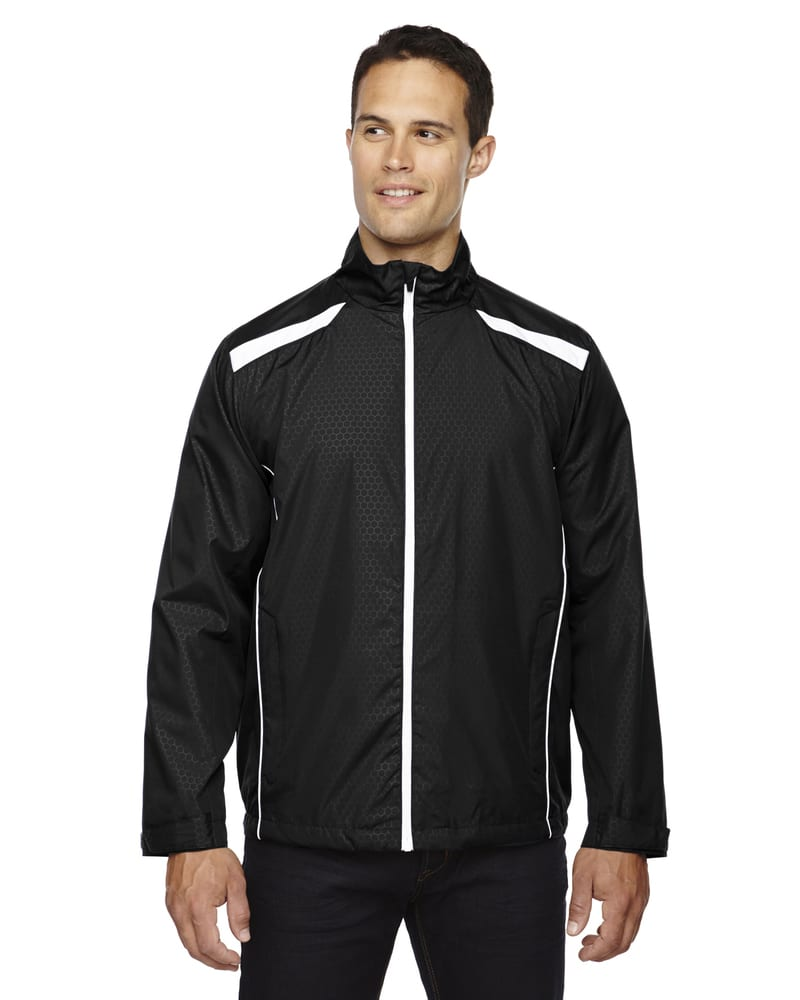 Ash City North End 88188 - Tempo JacketMen'sLightweight Recycled Polyester Jacket With Embossed Print