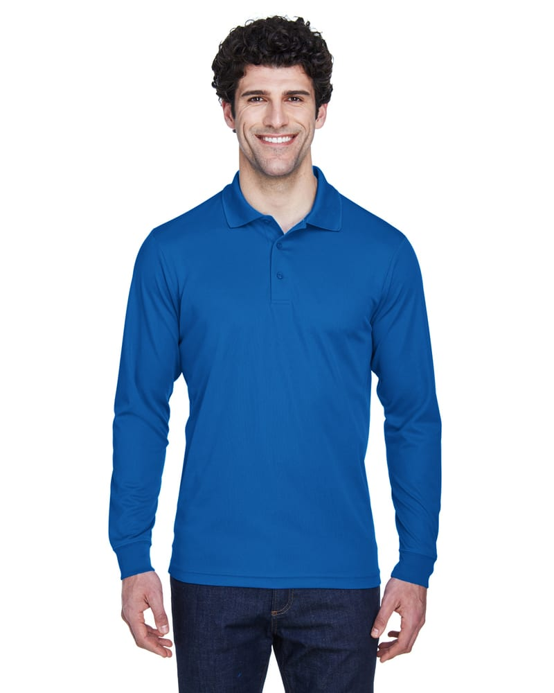 Ash City Core 365 88192 - Pinnacle Core 365™ Men's Performance Long Sleeve Pique Polos