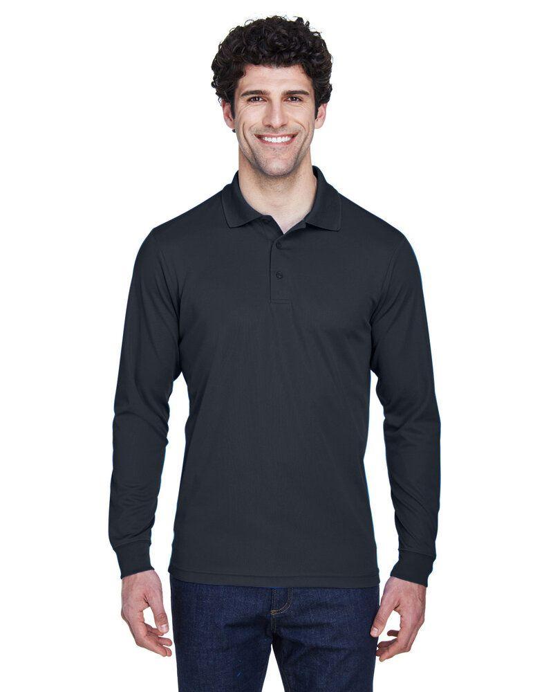 Ash City Core 365 88192T - Pinnacle Core 365™ Men's Performance Long Sleeve Pique Polos