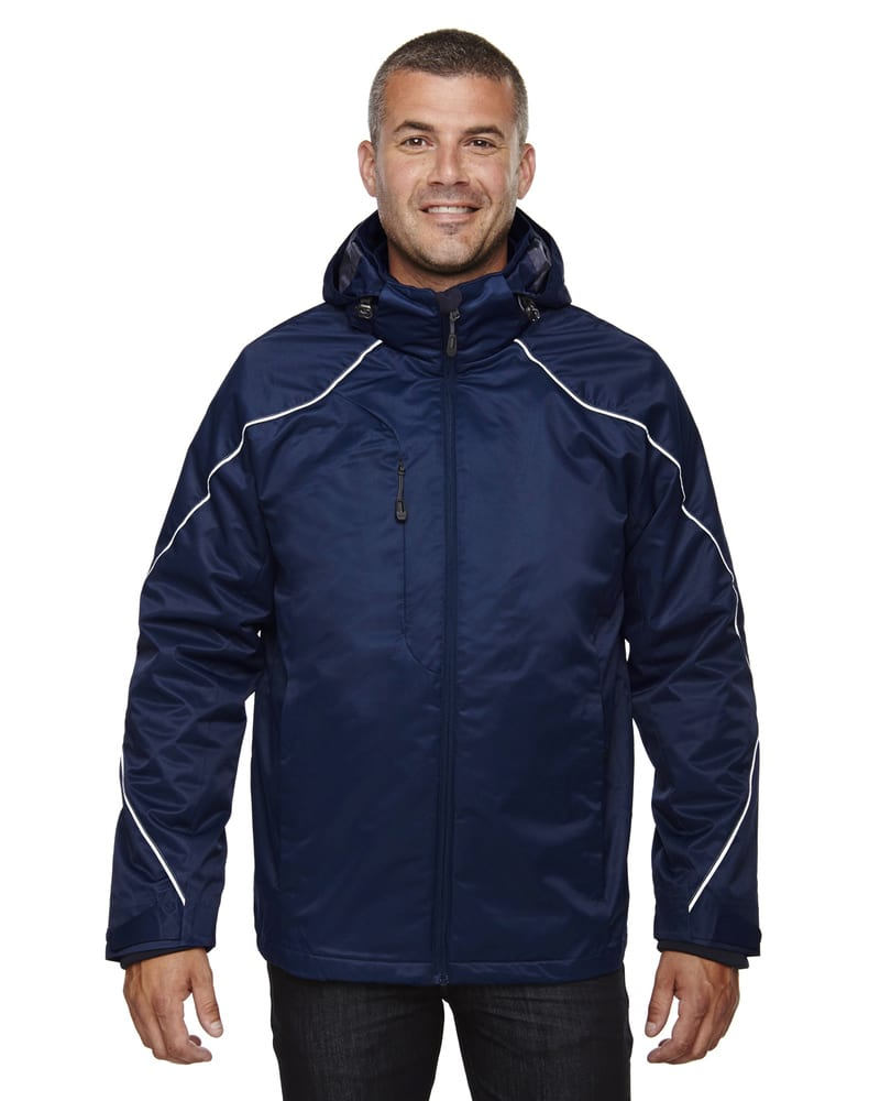 Ash City North End 88196T - ANGLE MEN'S TALL3-in-1 JACKET WITH BONDED FLEECE LINER