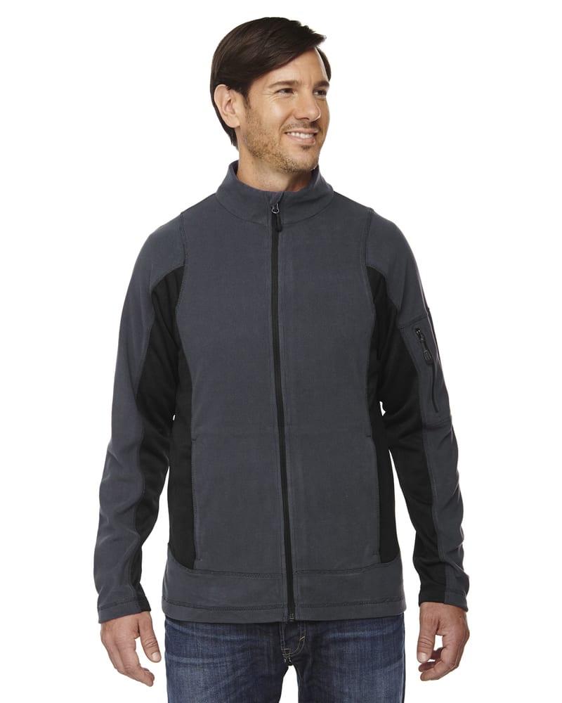 Ash City North End 88198 - Generate Men's Textured Fleece Jackets
