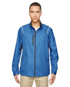 Ash City North End 88200 - Sustain Mens Lightweight Recycled Polyester Dobby Jacket With Print