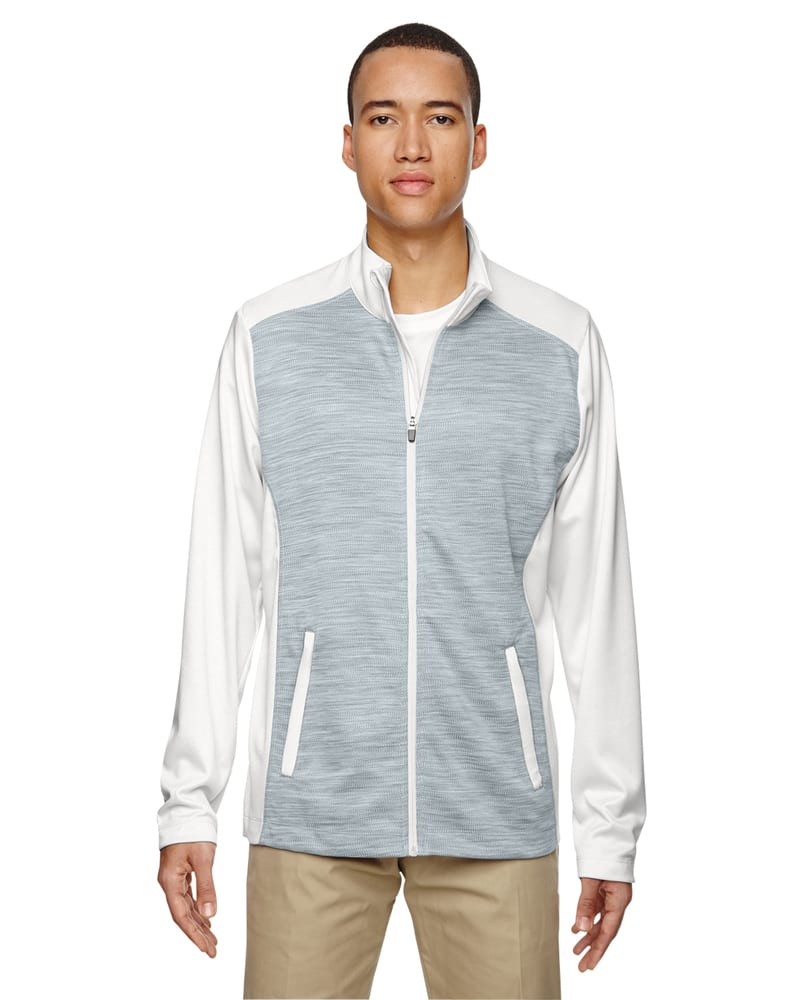 Ash City North End 88203 - Shuffle Men's Performance Melange Interlock Jacket