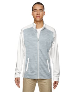 Ash City North End 88203 - Shuffle Mens Performance Melange Interlock Jacket