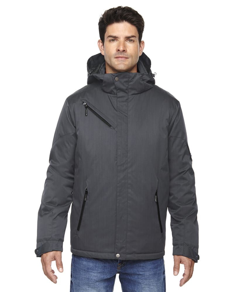 Ash City North End 88209 - Rivet Men's Textured Twill Insulated Jackets