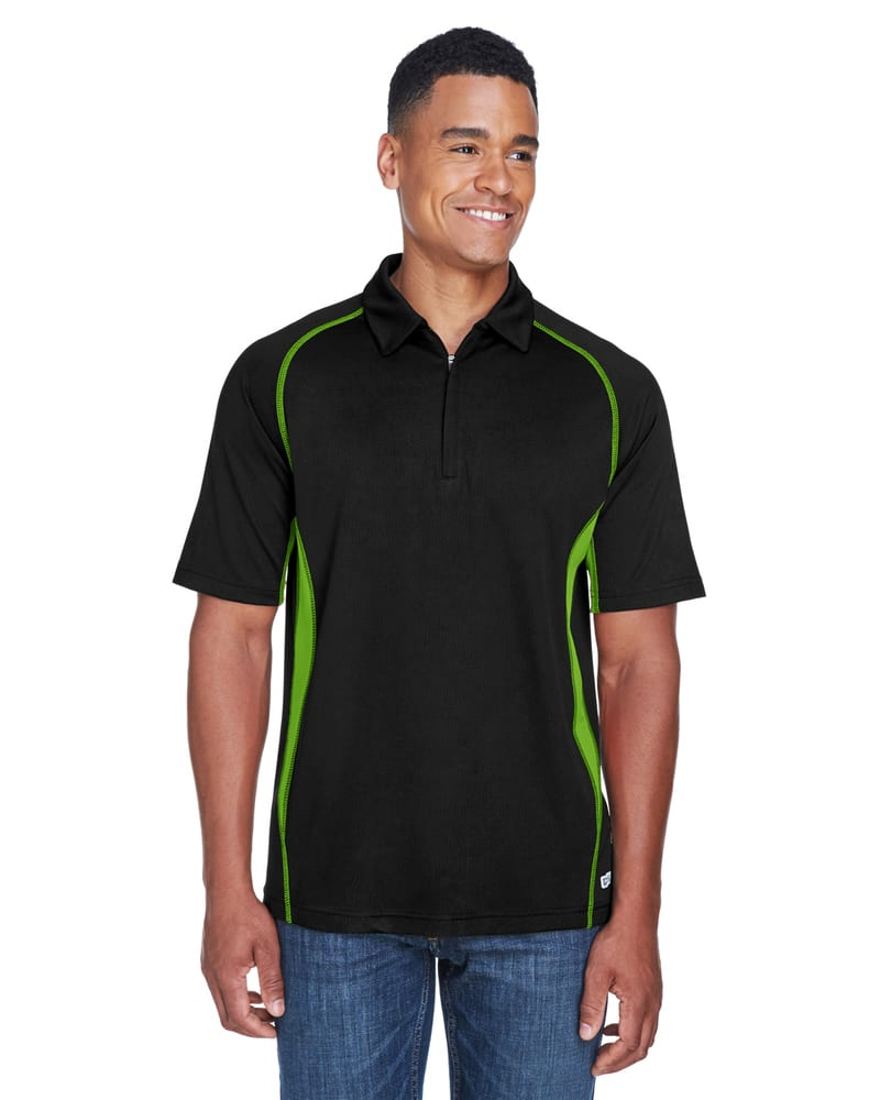 Ash City North End 88657 - SERAC MEN'S UTK cool.logikTM PERFORMANCE ZIPPERED POLO