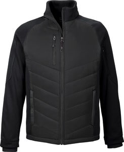 Ash City North End 88662 - Epic Mens Insulated Hybrid Bonded Fleece Jacket