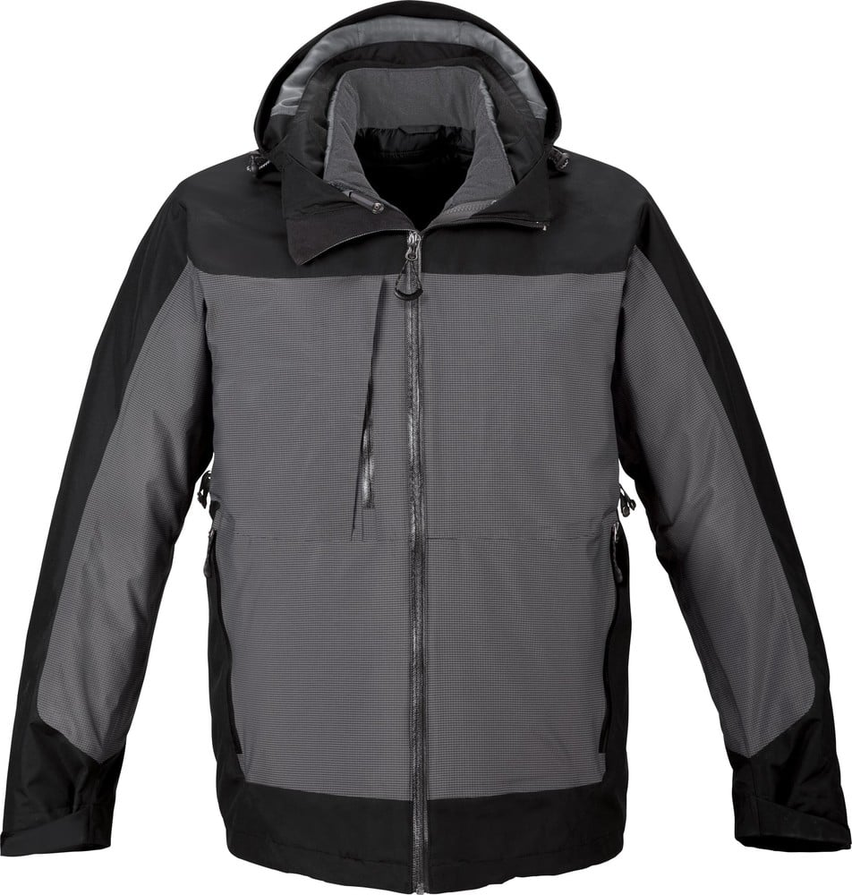 Ash City North End 88663 - Alta Men's 3-In-1 Seam-Sealed Jacket With Insulated Liner
