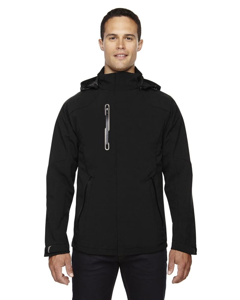 Ash City North End 88665 - Axis Men'sSoft Shell Jacket With Print Graphic Accents