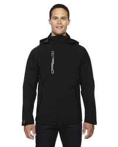 Ash City North End 88665 - Axis Mens Soft Shell Jacket With Print Graphic Accents