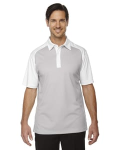 North End Sport Red 88676 - Polo Performance Utk Cool.Logo Ktm Coffee Symmetry pour hommes