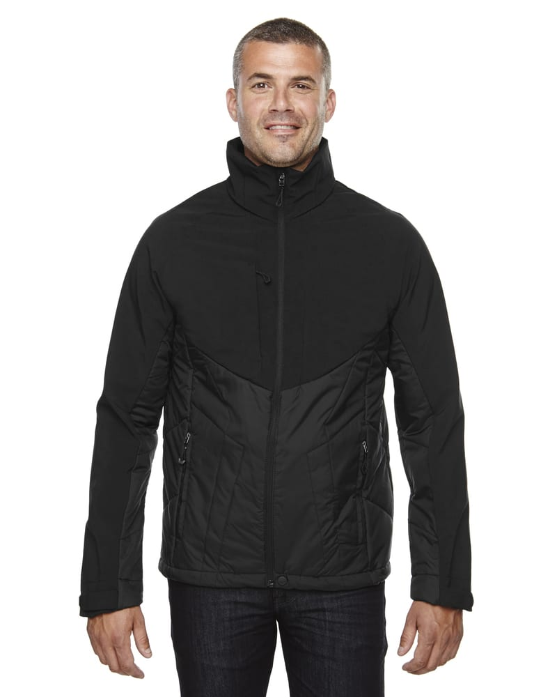 Ash City North End 88679 - Innovate Men's Hybrid Insulated Soft Shell Jacket