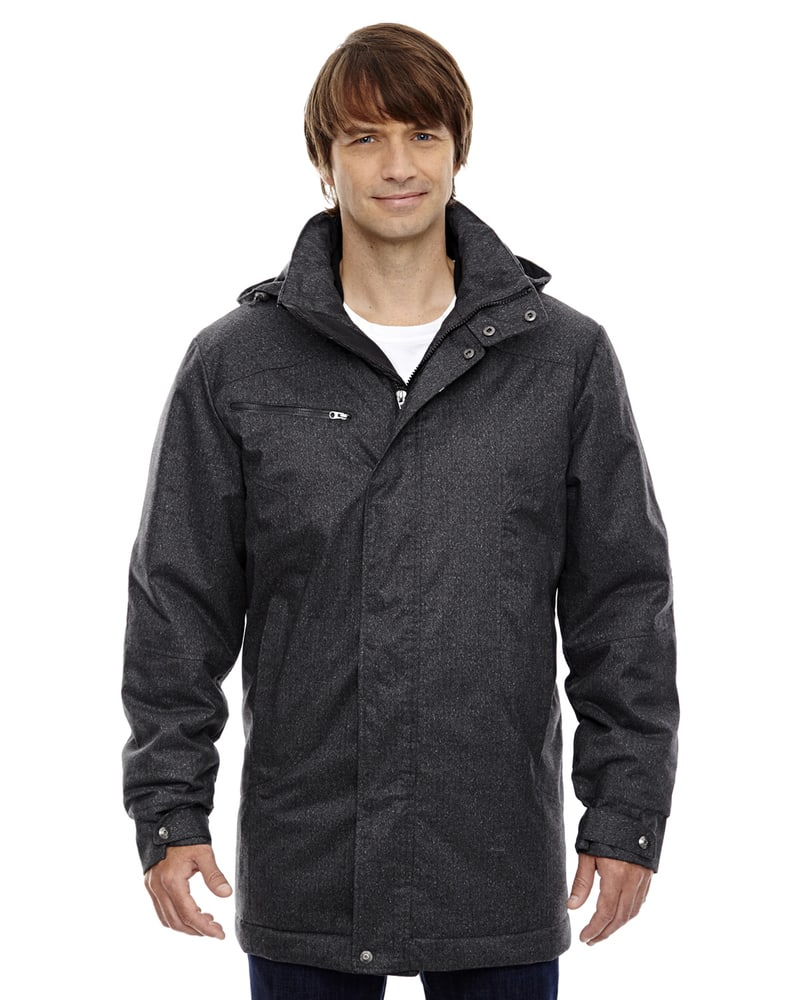 Ash City North End 88684 - Enroute Men's Textured Insulated Jackets With Heat Reflect Technology