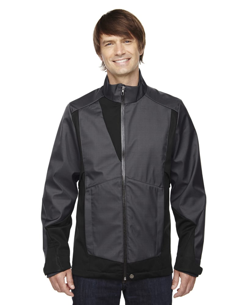 Ash City North End 88686 - Commute Men's3-Layer Light Bonded Two-Tone Soft Shell Jackets With Heat Reflect Technology