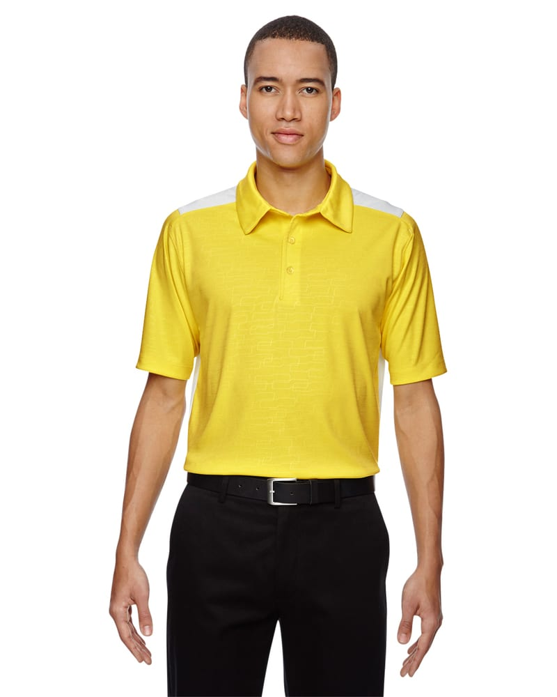 Ash City North End 88691 - NEW REFLEX MEN'S UTK cool.logikTM PERFORMANCE EMBOSSED PRINT POLO