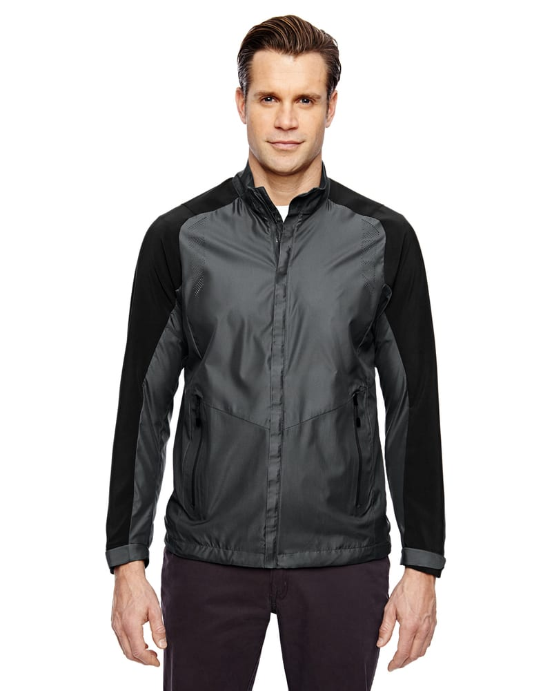 Ash City North End 88695 - Borough Men's Lightweight Jacket With Laser Perforation