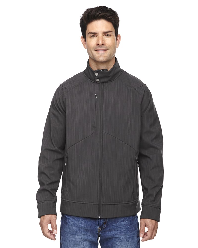 Ash City North End 88801 - Skyscape Men's 3-Layer Textured Two Tone Soft Shell Jackets