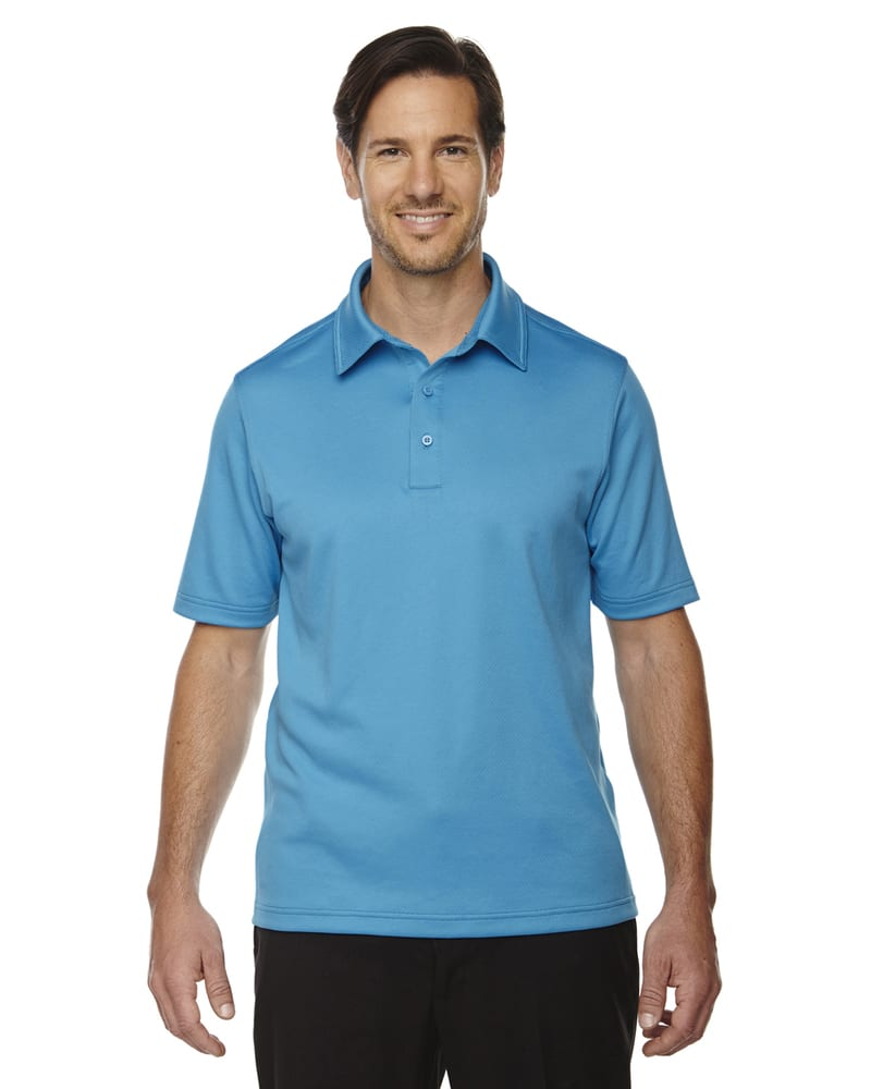 Ash City North End 88803 - Exhilarate Polos Performance De Charbon De Café Avec Poche Pour Homme