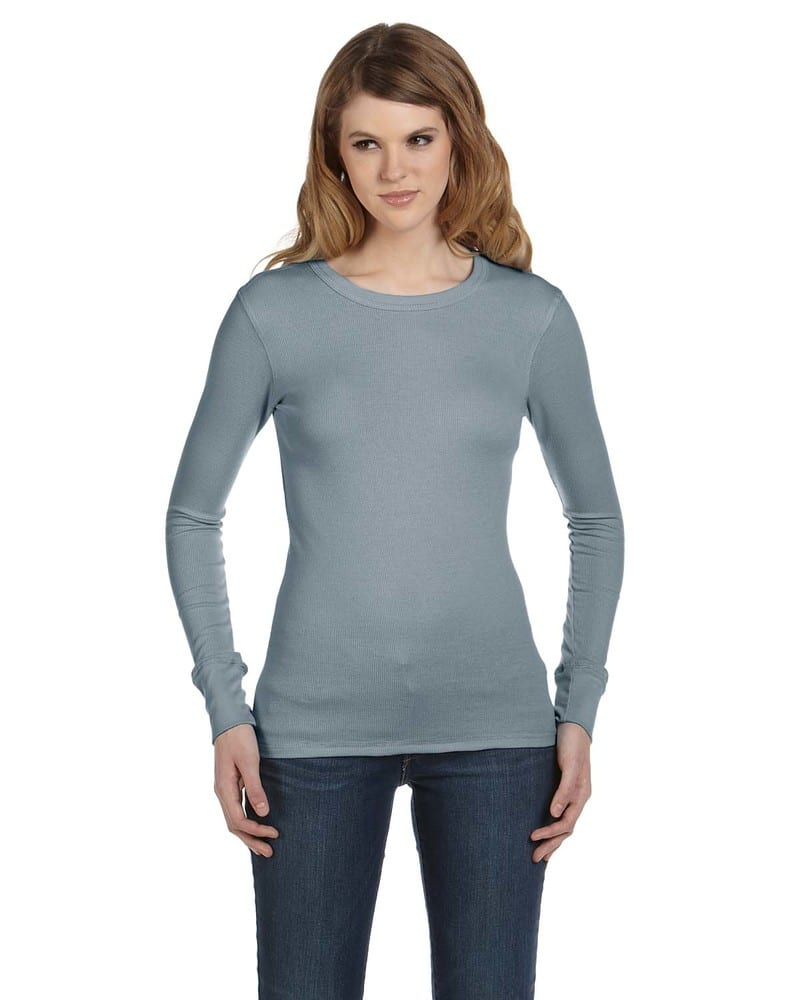 Bella+Canvas B8500 - Ladies Thermal Long-Sleeve T-Shirt