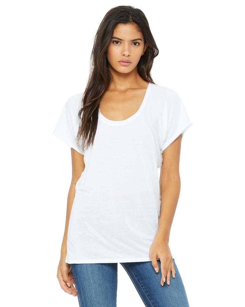 Bella+Canvas B8801 - Ladies Flowy Raglan T-Shirt