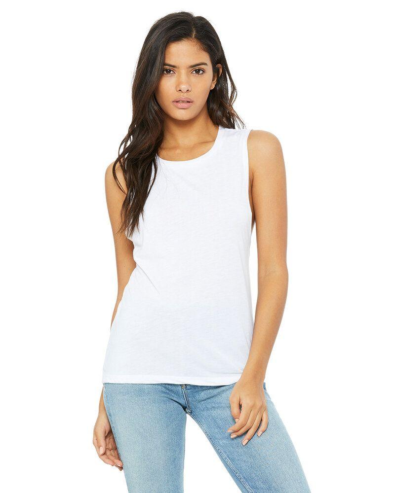Bella+Canvas B8803 - T-shirt fluide à encolure dégagée pour femmes