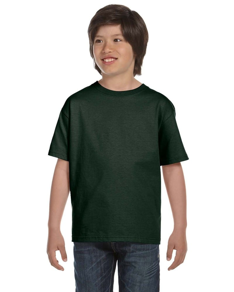 Fruit of the Loom HD6BY - T-shirt pour enfant 6 oz., 100% Cotton Lofteez HDMD MD