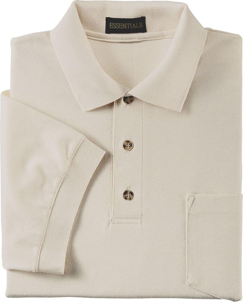 Ash City Vintage 225441 - Men's Pique Polo With Pocket